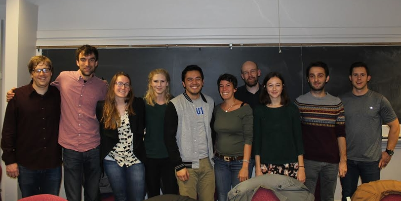 2015 Geography Graduate Student Cohort