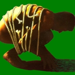 Graphic of man hunched over with rope around his body indicating lower back pain