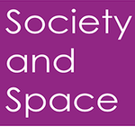 Society and Space journal cover.