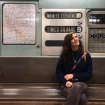 Sophia Nelson on public transportation in New York City