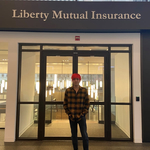tanner minh le at the Liberty Mutual Insurance building