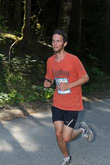 James Senseney running
