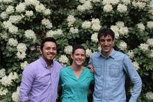 Edgar Sandoval, Jen Porter, and Rob Anderson