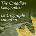 Cover of Canadian Geographer journal