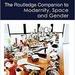 Routledge Companion to Modernity, Space and Modernity, Space and Gender cover