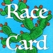 The words Race Card overlaid on top of a cactus.